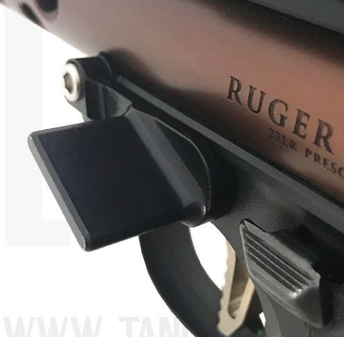 Rimfire Sports & Custom: Ruger Mark IV 22/45 Thumb Rest by Striplin