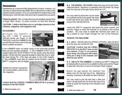 Gun ruger mark iii user manual.